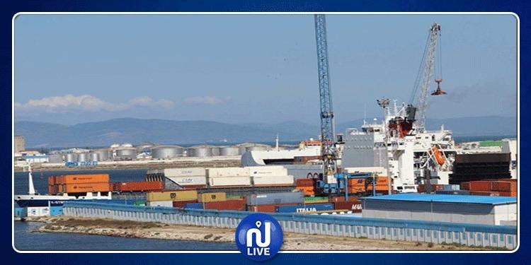 الباخرة العسكرية الايطالية ''ايتنا'' ترسو بميناء حلق الوادى