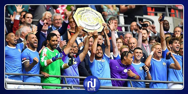 Manchester City remporte le Community Shield