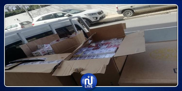 نابل: حجز 2680 علبة تبغ بقيمة 10 آلاف دينار
