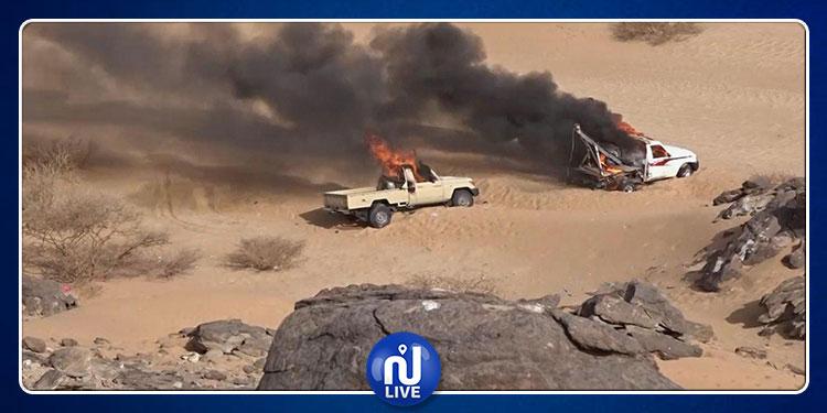 الحوثيون ينشرون فيديو لعملية نجران العسكرية (فيديو)