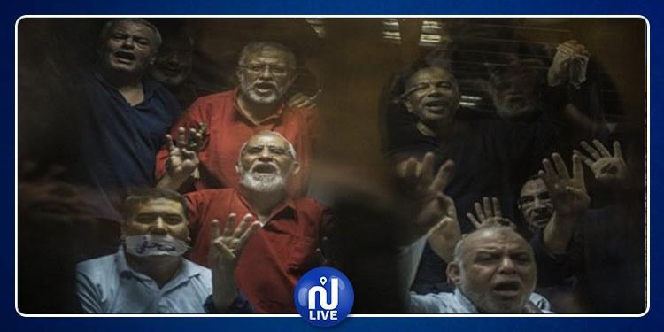 بينهم بديع والبلتاجي: المؤبد لقيادات الإخوان في مصر