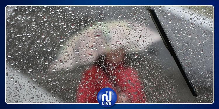 الرصد الجوي: أمطار رعدية منتظرة وتقلّص الحرارة
