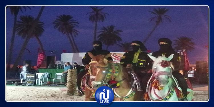 اختتام فعاليات الدورة 14 للمهرجان الوطني للالعاب الشعبية الصحراوية بشني