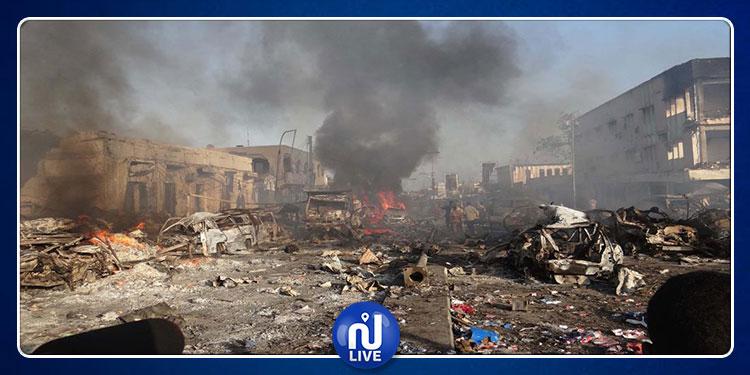 تفجيرات انتحارية تستهدف قاعدة أمريكية في الصومال