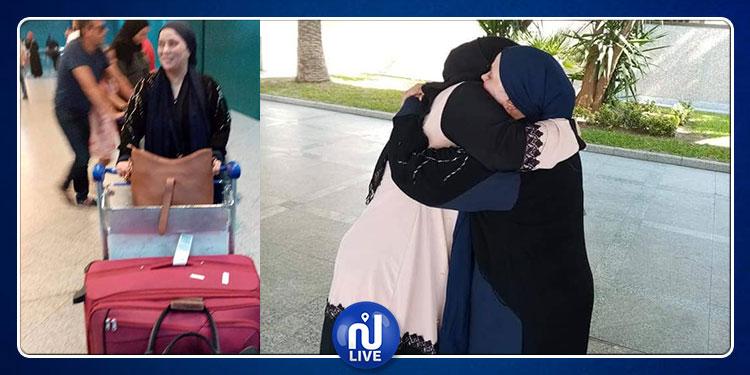 بعد احتجازها من قبل مشغلتها السعودية: التونسية مفيدة الزياني تعود إلى تونس (فيديو)