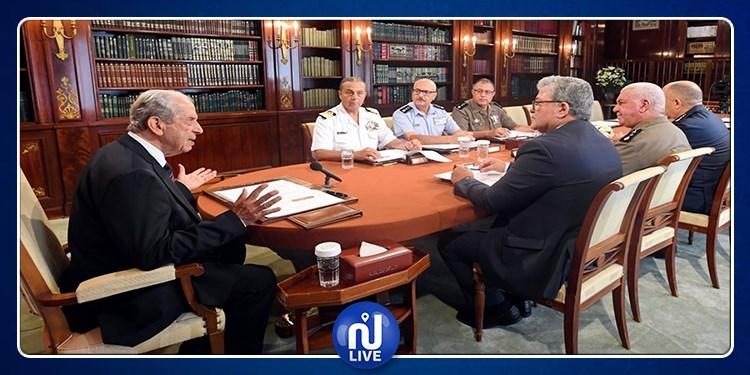 ٍماذا في إجتماع رئيس الجمهورية بالمجلس الأعلى للجيوش ؟