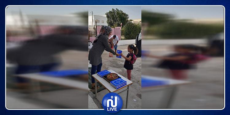 القيروان: مدرسة إبتدائية تستقبل التلاميذ بالمصحف الشريف والحلوى