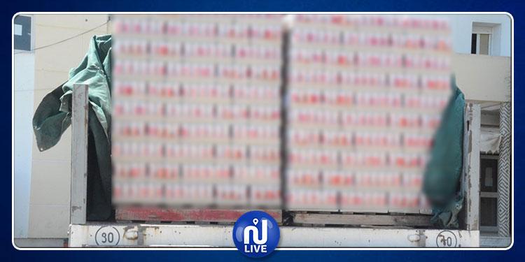 العاصمة: حجز أكثر من 51000 علبة جعة داخل مستودع