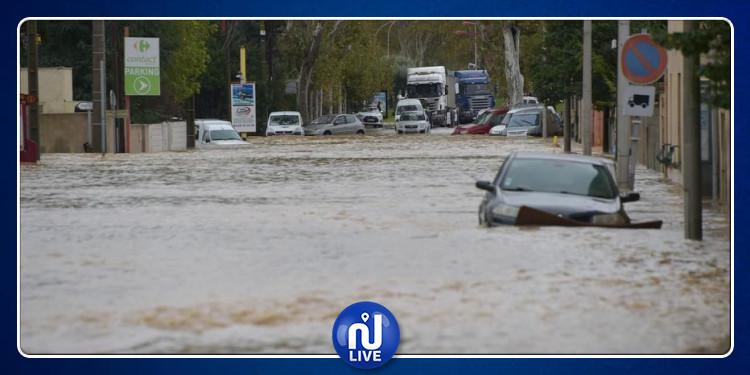 فرنسا : الفيضانات تقتل  3 أشخاص  و السلطات تجند 2000 عون إنقاذ