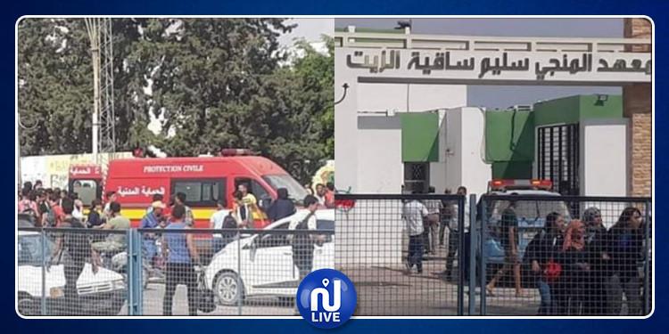صفاقس: آخر المستجدات في قضية أحداث العنف بمعهد المنجي سليم بساقية الزيت