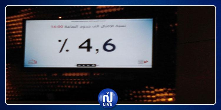 نبيل بفون : نسبة الإقبال على الإقتراع بالخارج بلغت 4.6 بالمائة