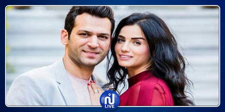 مراد يلدريم يحتفل بعيد ميلاد زوجته (فيديو)