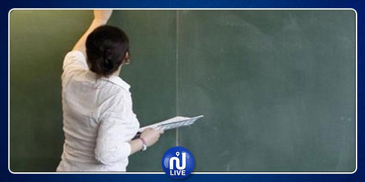 سيدي بوزيد: معلمة تدخل في اعتصام مفتوح صحبة بناتها