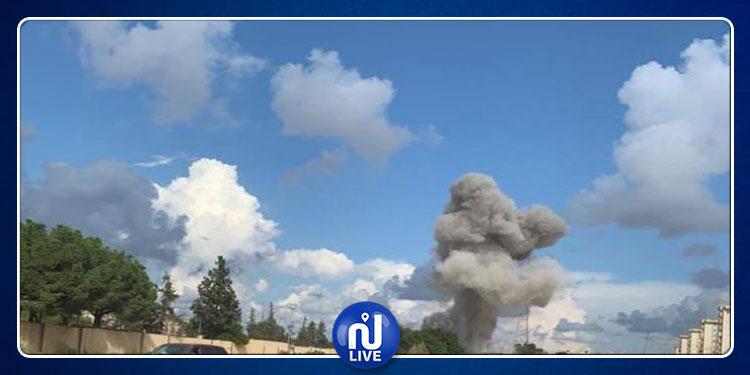 الجيش الليبي يقصف مباني تابعة لـوزارة الـداخلية في طرابلس