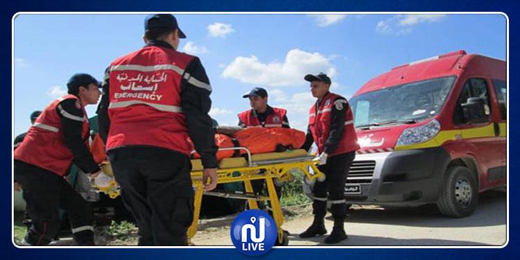 المكناسي: وفاة شخص في حادث انقلاب شاحنة