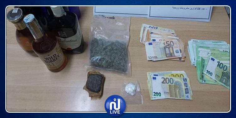 ميناء حلق الوادي: حجز مخدرات وأموال بحوزة مسافر قادم من روما