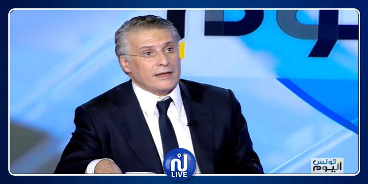 نبيل القروي: قيس سعيّد أحد أذرع النهضة وإن فاز في الرئاسية ستتغوّل هذه الحركة