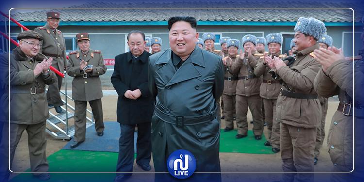 كيم جونغ أون  يختبر شخصيا منصة لإطلاق صواريخ من عيار ثقيل