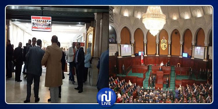 كواليس مجلس نواب الشعب دقائق قبيل انطلاق الجلسة الافتتاحية (فيديو)