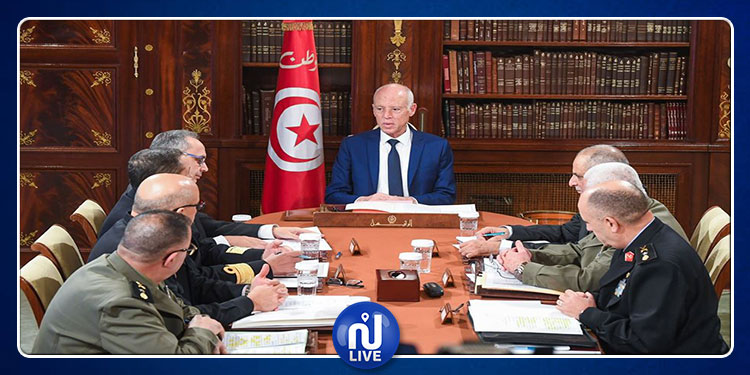 قيس سعيّد يشرف علىاجتماع المجلس الأعلى للجيوش