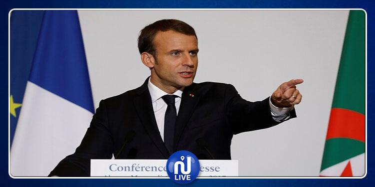 ماكرون يُحيّي الشعب الجزائريفي ذكرى اندلاع ثورته ضد الاستعمار الفرنسي