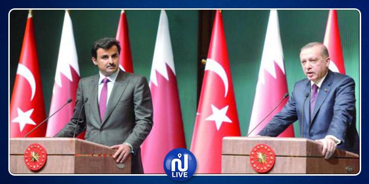 صحيفة رسمية تركية : قريبا انفصال تركيا و قطر