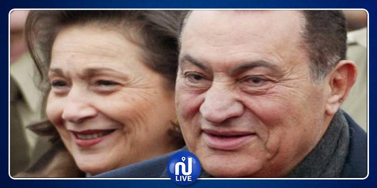 حقيقة خبر وفاة سوزان مبارك