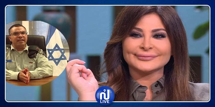 إليسا تنعت المتحدث باسم الجيش الإسرائيلي بـ''المحتل الوقح'' مجددا (فيديو)