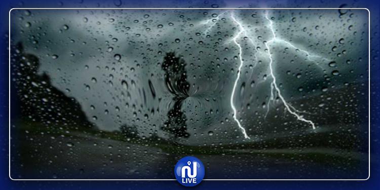 التقلبات الجوية متواصلة .. أمطار رعدية ورياح وصواعق الليلة...