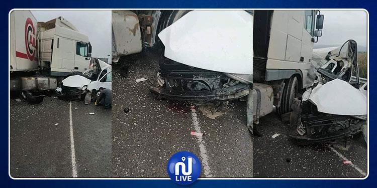 حادث مرور عنيف بين قرمبالية وسليمان (صور)