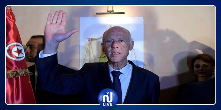 قيس سعيد يفوز بثقة التونسيين