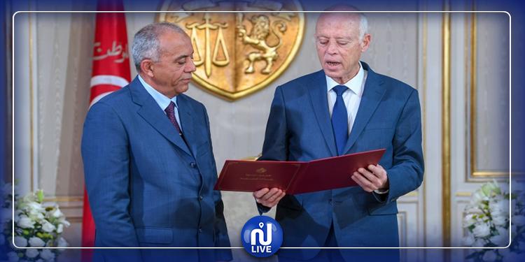 الجملي في قصر قرطاج للقاء رئيس الجمهورية...