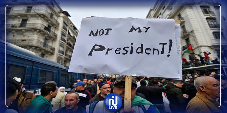 الجزائريون يحتجّون على انتخاب تبون رئيسا للبلاد