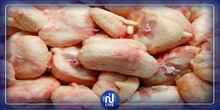 أطنان من اللحوم البيضاء تحمل جرثومة ''السالمونيلا''