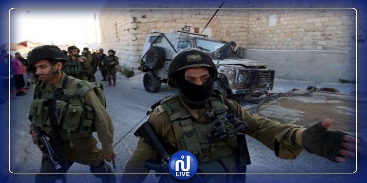 قوات الاحتلال  تعتقل الفريق الصحفي لتلفزيون فلسطين
