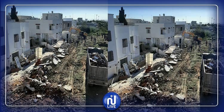 باردو : هدم منازل تسببت في حدوث الفيضانات (صور + فيديو )