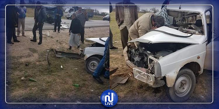 حادث مرور قاتل على الطريق الرابطة بين القيروان وقابس (صور)