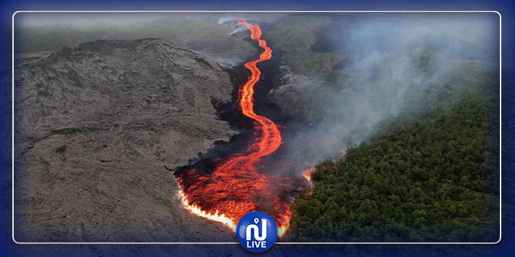 نيوزيلندا :  ثوران بركان وفقدان سياح