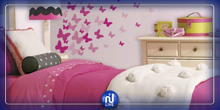 طريقة إبتكار ''الفراشات'' لتزيين غرفة ابنتك
