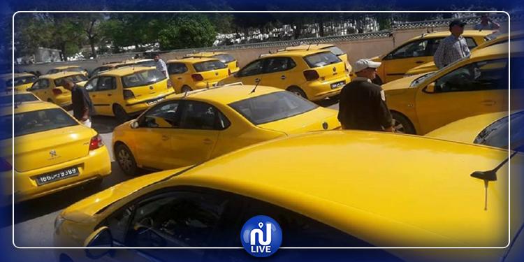 بسبب التاكسي سكوتور.. ''التاكسيستية'' يسيرون على الأقدام  نحو وزارة النقل