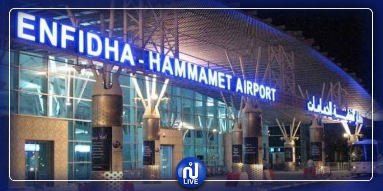 مطار النفيضة  الحمامات الدولي :  كاميرا لقيس الحرارة لرصد فيروس كورونا