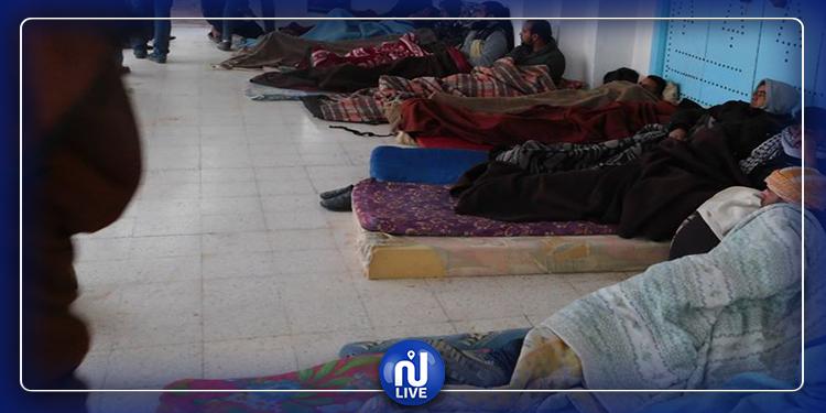 تطاوين : الشباب المعتصم يستأنفون إضراب الجوع الوحشي