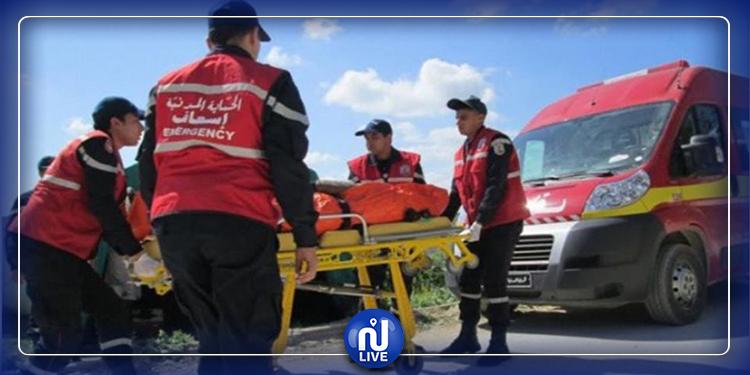 قرمبالية : وفاة امرأة في حادث مرور