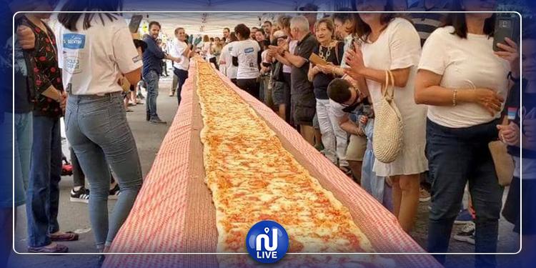 بيتزا طولها 103 أمتار لمكافحة الحرائق في أستراليا