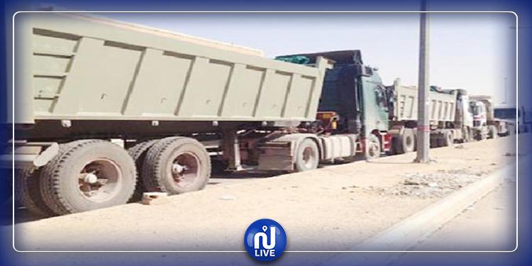 المظيلة: منع مرور الشاحنات الثقيلة والناقلة للفسفاط بالطريق الرئيسي