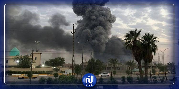 سقوط 3 صواريخ بالمنطقة الخضراء في بغداد