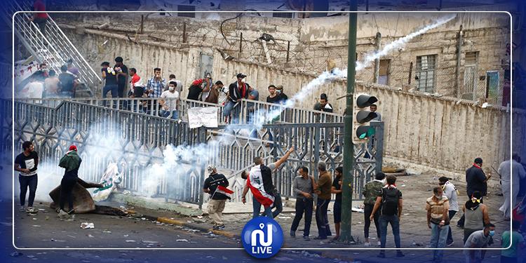 رويترز: الأمن العراقي يواجه المحتجين بالرصاص الحيّ