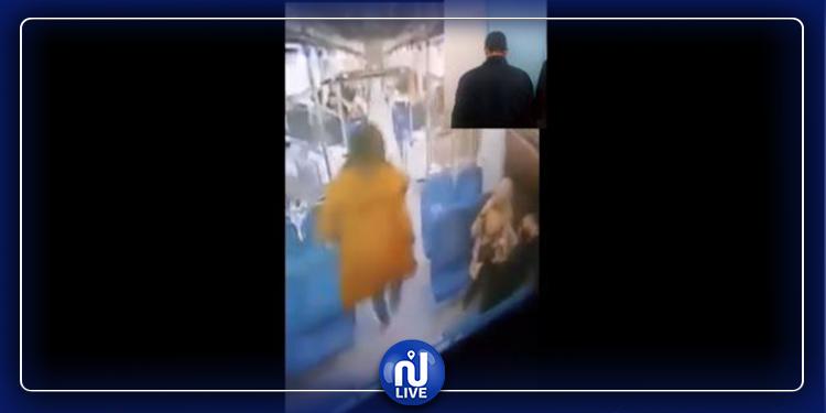 الداخلية : القبض على شاب نطر حقيبة  فتاة داخل القطار (فيديو)