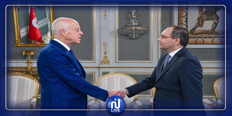 Le chef de l'Etat s'entretient avec le ministre de l'intérieur