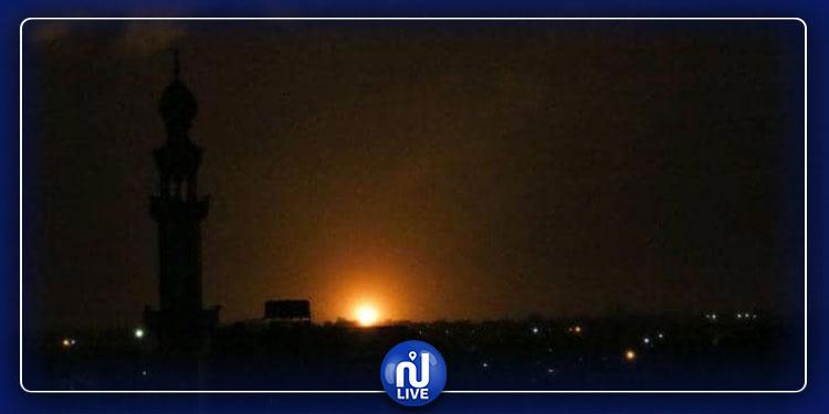 جيش الاحتلال يقصف قطاع غزة